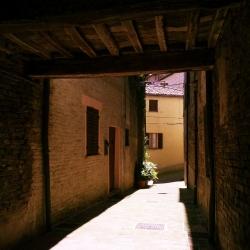 luci e ombre per le vie di corinaldo